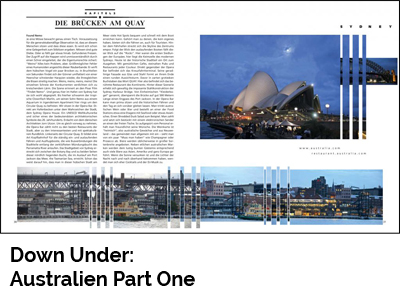 Down Under: Australien Part One (Port Culinaire No. 33)
