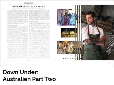 Down Under: Australien Part Two (Port Culinaire No. 34)