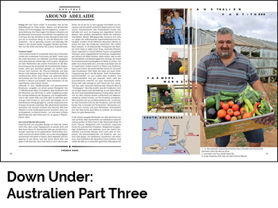 Down Under: Australien Part Three (Port Culinaire No. 35)