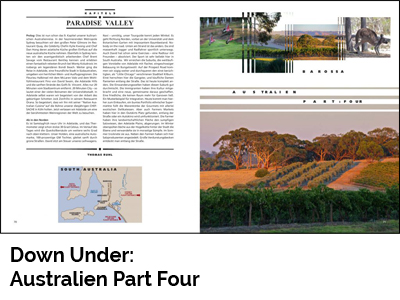 Down Under: Australien Part Four (Port Culinaire No. 37)