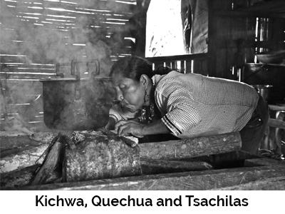 Kichwa, Quechua and Tsachilas