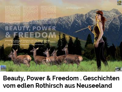 Beauty, Power & Freedom . Geschichten vom edlen Rothirsch aus Neuseeland (Port Culinaire No. 9–10