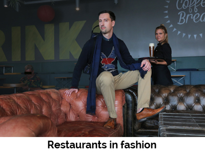 Restaurants in fashion