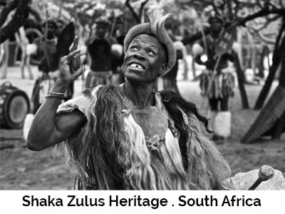 Shaka Zulus Heritage . South Africa